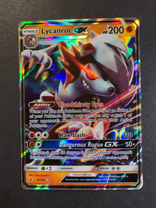 Lycanroc GX - 74/145 Ultra Rare - Pokemon Guardians Rising