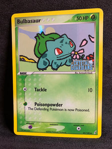 "Bulbasaur - 45/100 ""Stamped"" Reverse Holo"