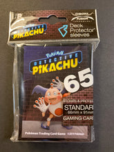 Load image into Gallery viewer, Pokemon Detective Pikachu Card Sleeves - Mr. Mime (65 Sleeves)