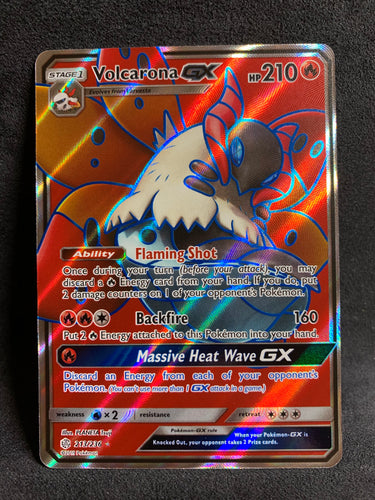 Volcarona GX - 213/236 Full Art Ultra Rare - Cosmic Eclipse