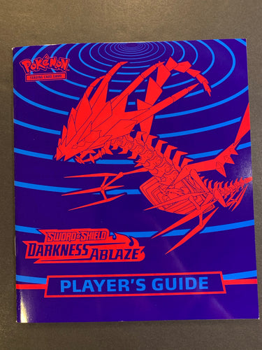Pokemon Darkness Ablaze Player's Guide Book - Eternatus