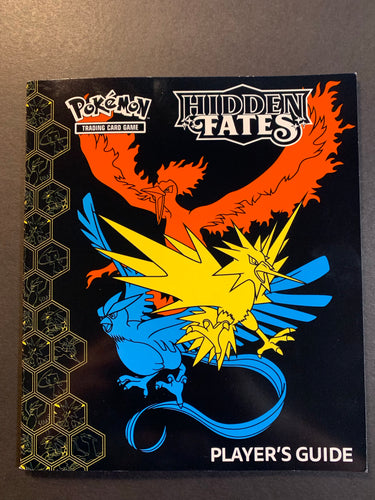 Pokemon Hidden Fates Player's Guide Book