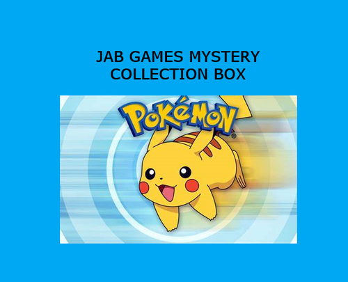 Pokemon TCG Mystery Collection Box
