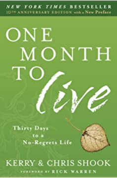 One Month To Live Book