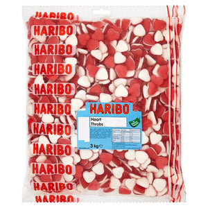 Haribo Red Heart Throbs