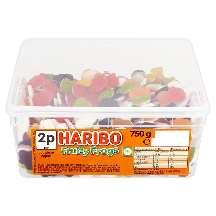 Haribo Fruity Frogs