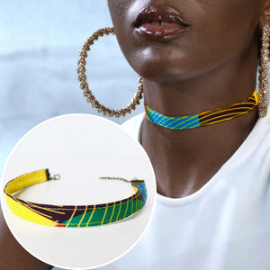 Afro-Fashion Choker