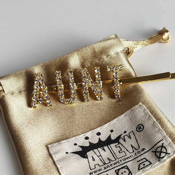 Bling Letters Hairpin