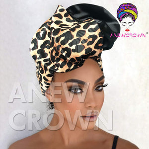 Leopard One Side Pattern Wire Headband