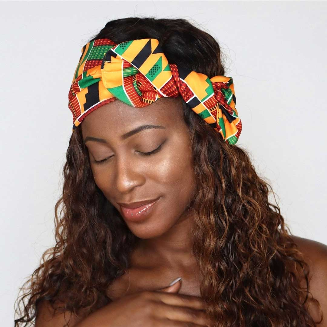 African Life Wire Headband