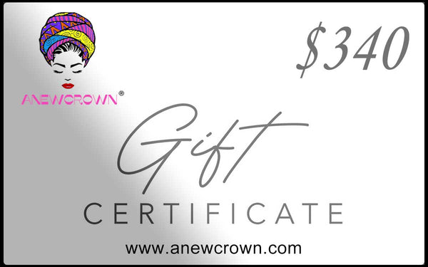 Anewcrown Gift Card