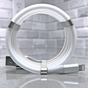 Self-Winding Charging Cable