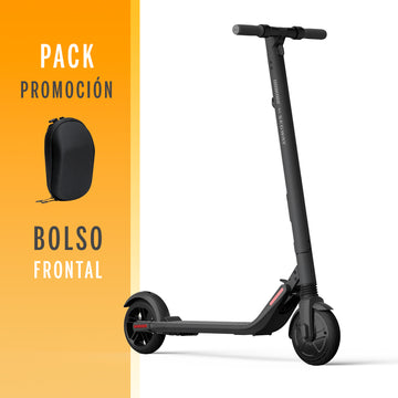 PACK Scooter Segway Ninebot ES2 + bolso frontal