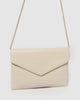 Ivory Smooth Samantha Clutch Bag