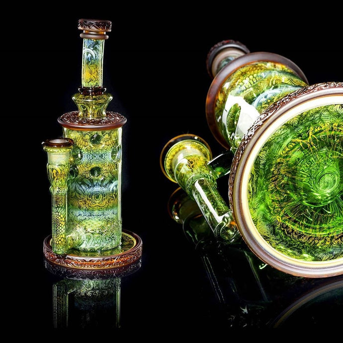 Mothership Glass - Elite Straight Fab - The Giver Series