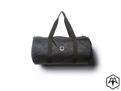 Hex Leaf Embroidered Duffel Bag
