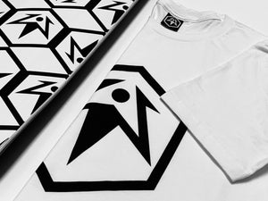 Hex Leaf T-Shirt - White