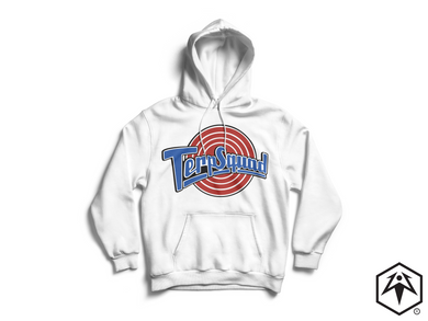 1996 Terp Squad Hoodie - White