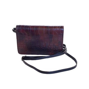 "Erbanna Smell Proof Bag with both Crossbody and Wristlet Strap - KAM - 7.5"" x 5"" x 1.5"" - Colors"