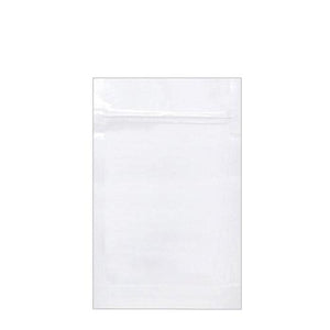 Mylar Bag Opaque White 1/2 Oz - 14 Grams (100, 500, or 1,000 Count)
