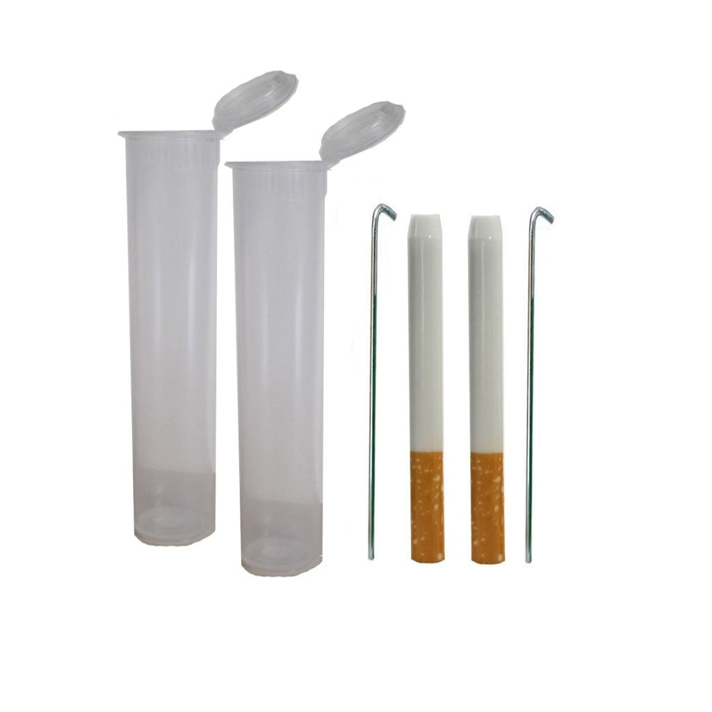 "3"" Glass Quartz Cigarette Pipe 