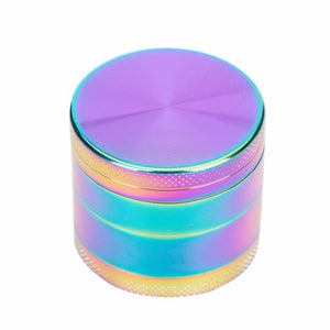 Hand Muller Tobacco Herb Grinder Rainbow 12 Count Display 50mm