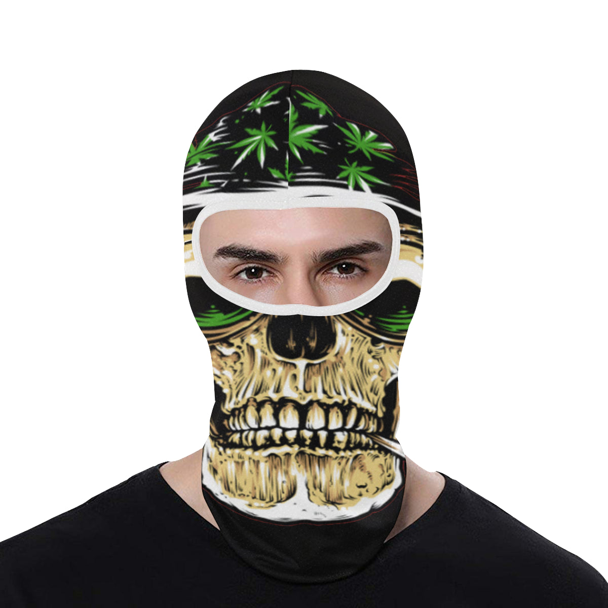 Stoner Skull  All Over Print Balaclava