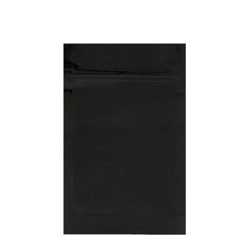 Mylar Bag Opaque Black 1/2 Oz - 14 Grams (100, 500 or 1,000 Count)