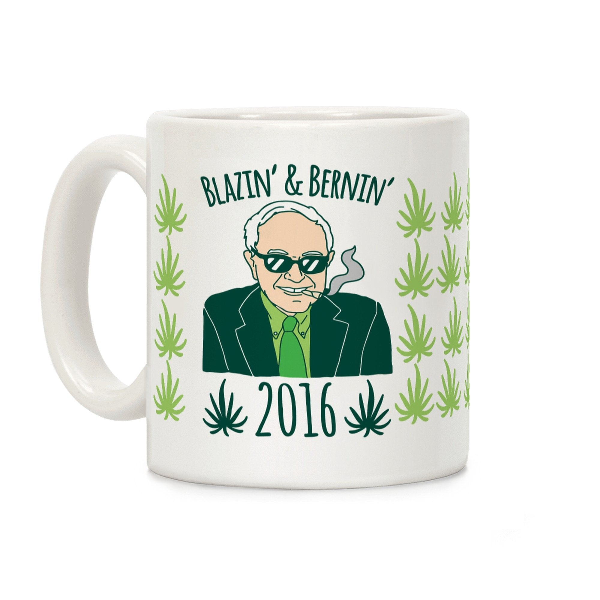 Blazin' And Bernin' 2016 Ceramic Coffee Mug by LookHUMAN