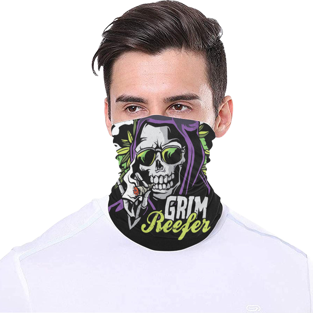 Grim Reefer Face Mask