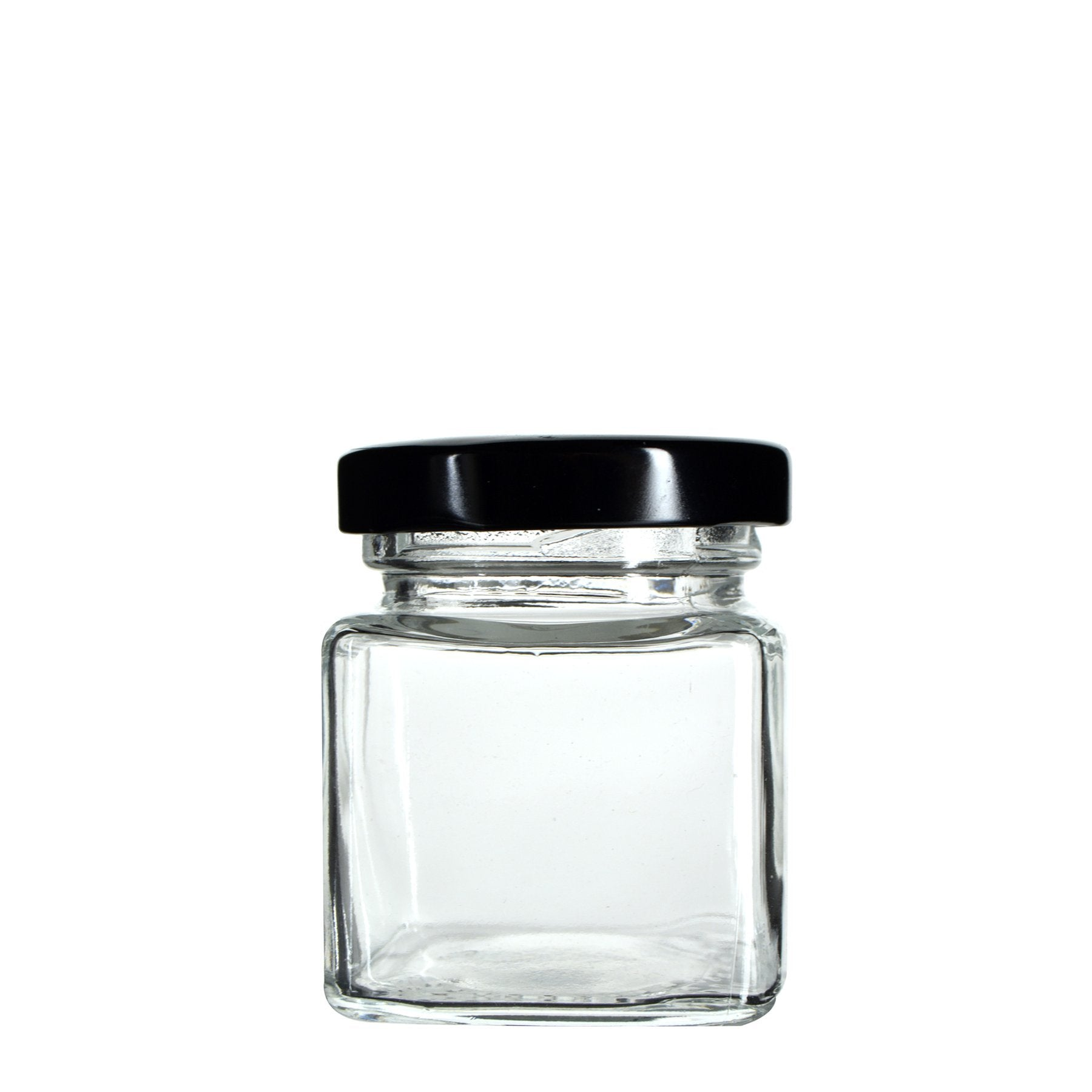 2 oz Square Glass Jar (240 Count)