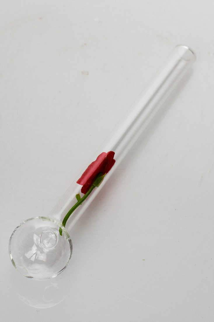 Happy valentine love rose Oil burner pipe