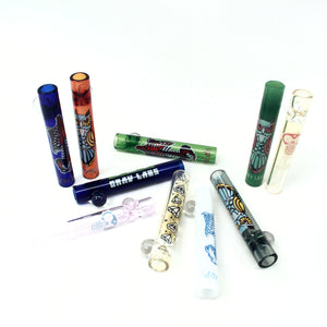 "Grav Labs 3"" 12mm Glass Taster - Whimsical 10/pk"