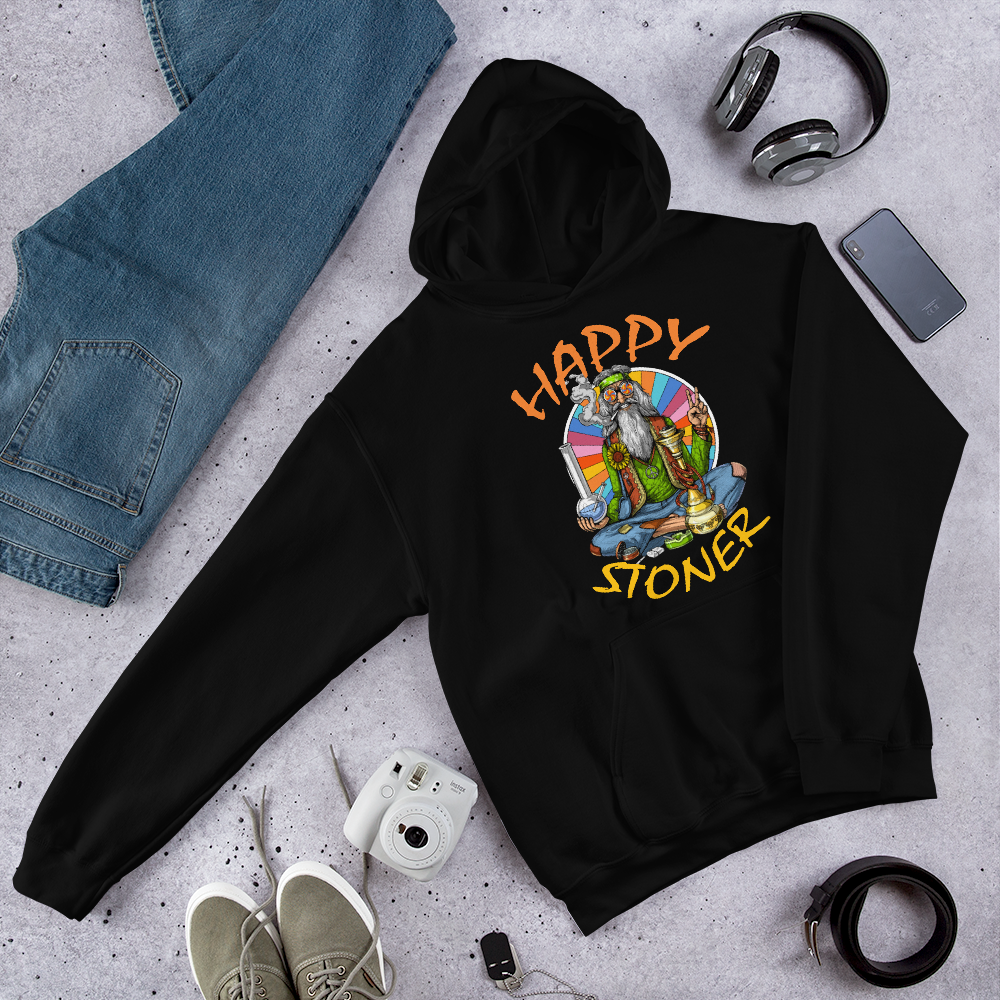 Happy Stoner (Wise man)Hoodie