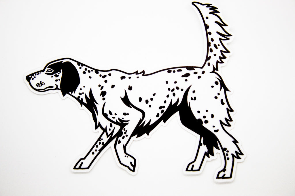 Sticker - English Setter
