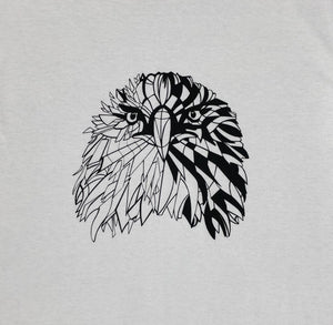 Geometric Eagle t- shirt