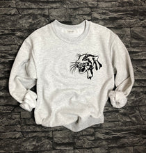 Load image into Gallery viewer, Leopard Head Sweatshirt - Embroidered