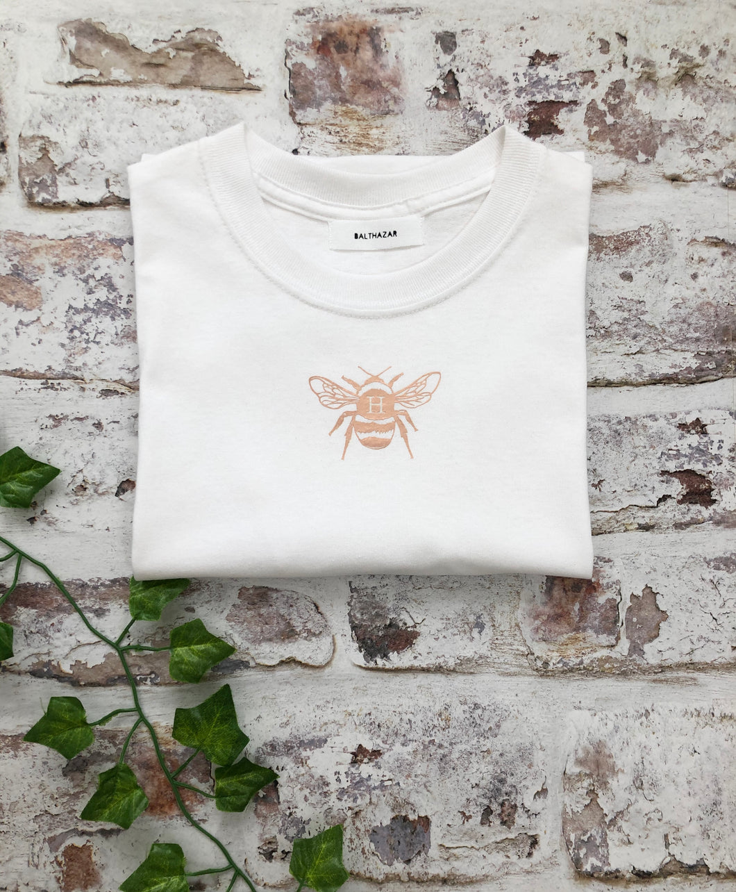 Custom Vinyl Bee T-shirt