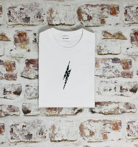 Animal print lightning bolt t-shirt