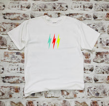 Load image into Gallery viewer, Neon lightning bolt t-shirt