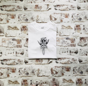 Skeleton Mermaid T-shirt