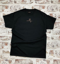 Load image into Gallery viewer, Personalised sign language ribbon Initial t-shirt - BSL- Unisex