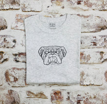 Load image into Gallery viewer, Geometric Bulldog T-shirt