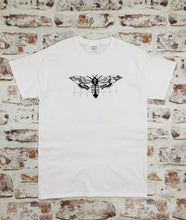 Load image into Gallery viewer, Graphic heartbeat Moth t-shirt