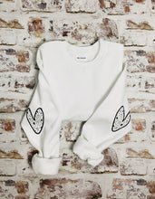 Load image into Gallery viewer, Love heart sleeved Sweatshirt