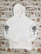 Load image into Gallery viewer, Skeleton Mermaid Sleeved Hoody - Unisex style