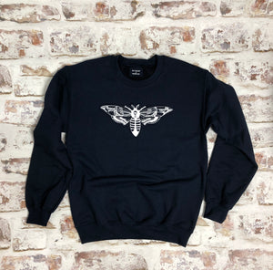 Graphic Moth sweatshirt - Unisex