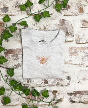 Load image into Gallery viewer, Childrens Rose Gold Bee t-shirt - Unisex