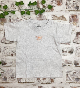 Childrens Rose Gold Bee t-shirt - Unisex