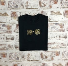 Load image into Gallery viewer, Gold Origami Elephant love t-shirt